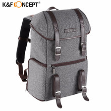 K&F CONCEPT New Camera/Photo Backpack Waterproof Multifunctional Casual Travel Bag With Removable Inner Dividers For DSLR/Laptop