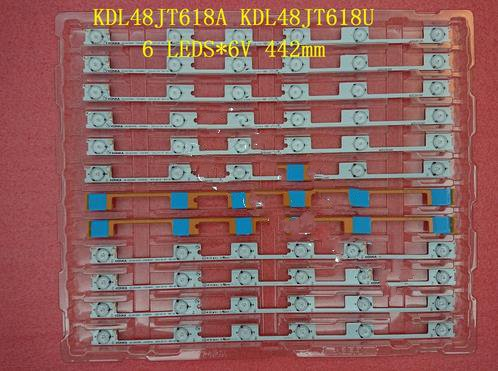 20 Pieces/lot Original New LED Backlight Bar Strip For KONKA KDL48JT618A KDL48JT618U 35018539 35018540 6 LEDS(6V) 442mm
