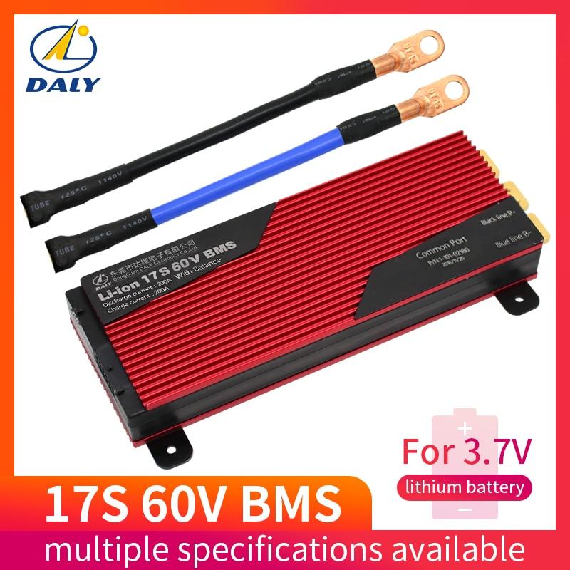 Daly 17 S 60 V 80A 100A 120A 150A 200A Smart BMS batterij management systeem bms voor e bike voor lithium batterij-in Batterij accesoires van Consumentenelektronica op  Groep 1