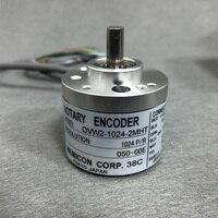 Baixo preço 6mm encoder eixo sólido push pull OVW2-06-2MHT OVW2-1024-2MHT 1024ppr 600ppr codificador rotativo óptico incrementais