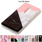 B02 Marble Soft Tpu Skin Shell Rubber Case For ZTE Z MAX PRO Z981 Z988 AXON 7 Blade V8 Pro Silicone Stone Texture Back Cover Bag