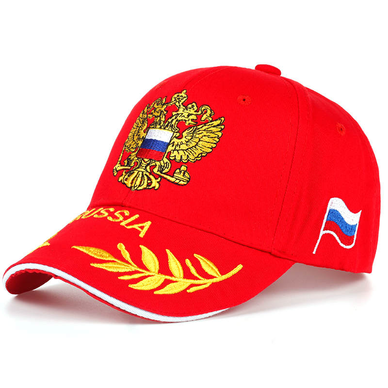 High Quality Brand Russian National Emblem Baseball Cap Men Women Cotton Embroidery Cap Hats Adjustable Fashion Hip Hop Hat