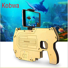 Bluetooth AR Gaming Controller Augmented Reality 3D AR Toy Game Controller Toy Gun Gamepad Joystick For IPhone Andriod Phone