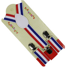 Winfox Fashion Baby Boys Suspenders 2.5cm Wide Colorful Striped SuspendersClip-on Y-Back Braces Elastic Kids Suspenders цена