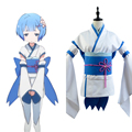 Re:Zero Life in a Different World from Zero Little Rem Cosplay Costume Young Girls Dress
