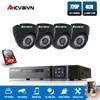 AHD 4CH system CCTV pełne 1080 P/720 P HDMI DVR Onvif 720 P 2000TVL zestaw kamer CCTV AHD system alarmowy do domu zestaw do nadzorowania 1 TB