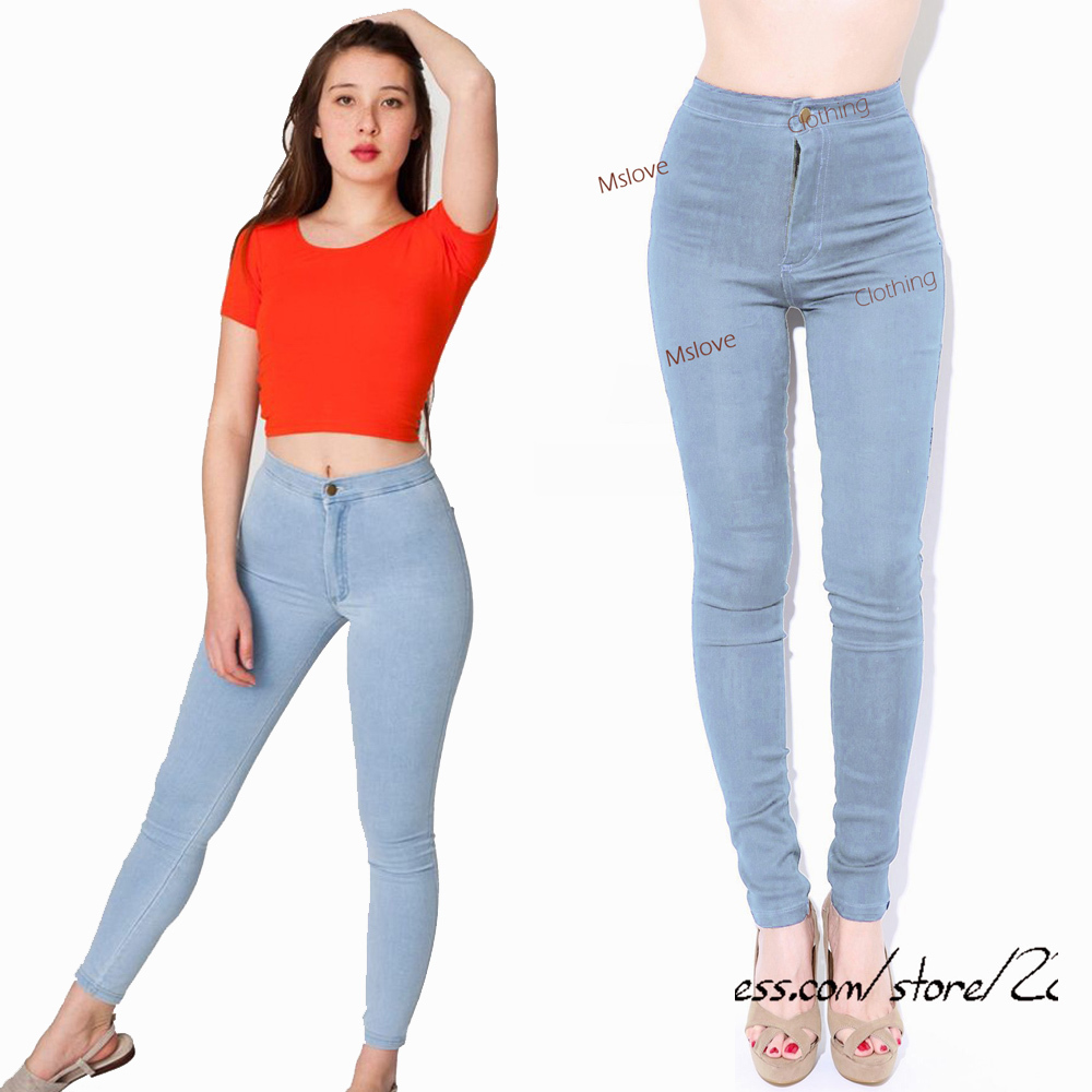 Womens vintage high waisted jeans – Global fashion jeans models