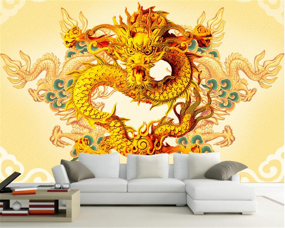 beibehang Home decoration painting noble dragon line dragon dragon ...
