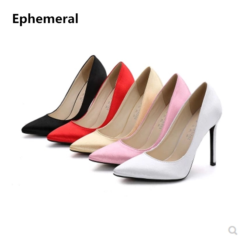 Lady's Clear Back Knot Sexy High Quality Super High Heel Women Pumps Stilettos Sandals Red Bottom For Femininas Gold US12 14 15