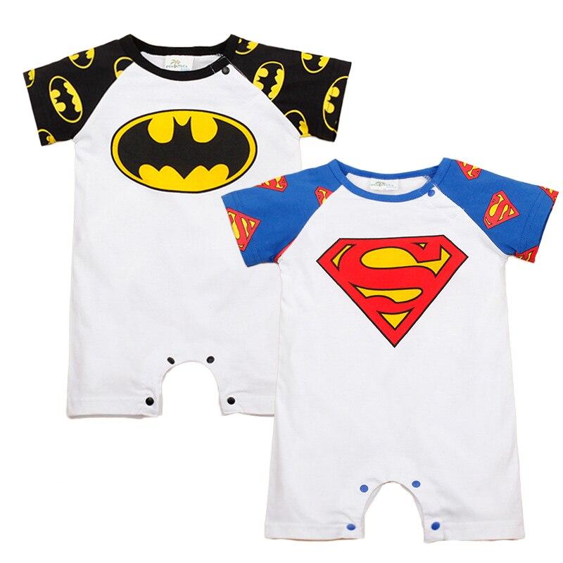 Neugeborenen Kleidung Super Man Stil Baby-kleidung Baumwolle Roupas ...