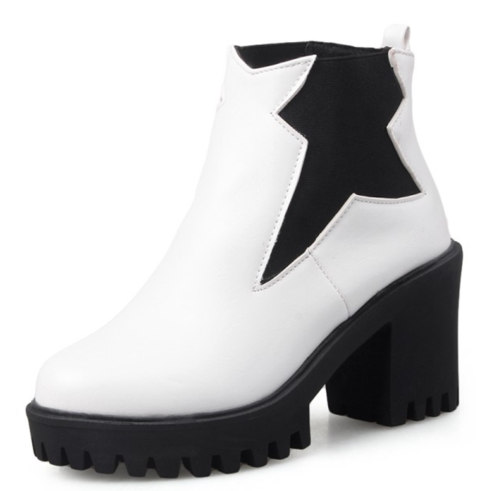 Popular Ankle Boots White-Buy Cheap Ankle Boots White lots from ...