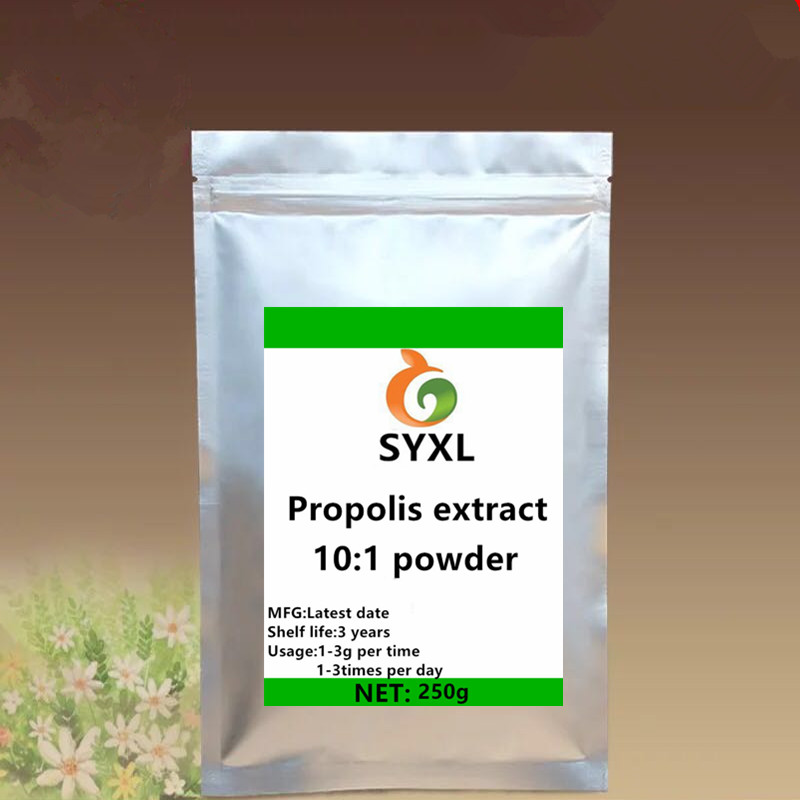 Anti-biotic And Anti-virus Water-soluble Propolis Extract Propolis powder feng jiao High-end health products Anti-aging image