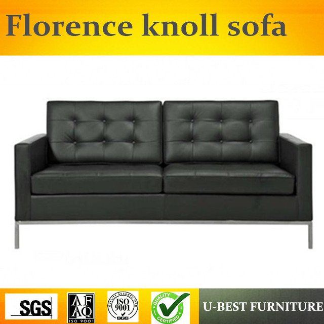 U Best Modern Design Leather Upholstery Sectional Sofa Replica