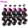 Brazilian Virgin Hair Body Wave 5 Bundles Of Virgin Brazilian Hair Weave Bundles 7A Unprocessed Human Hair Weave Body Wave