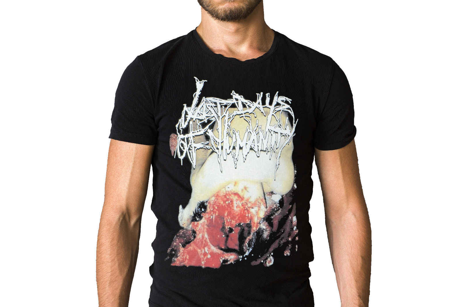 Last Days Of Humanity Hymns Of Indigestible Suppuration 2000 Album Cover T-Shirt 2018 Hot Sale New Men'S T Shirt