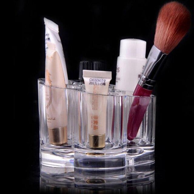 Acryl Kristall Bilden Kosmetischen Container Badezimmer Organizer Schmuck  Fall Make Up Pen Aufbewahrungsbox