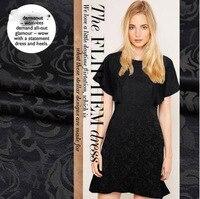 Gao Dingchao Egger US Ultra High Grade Thick Jacquard Fabric Dress Business Suit Skirt Hanfu Cloth