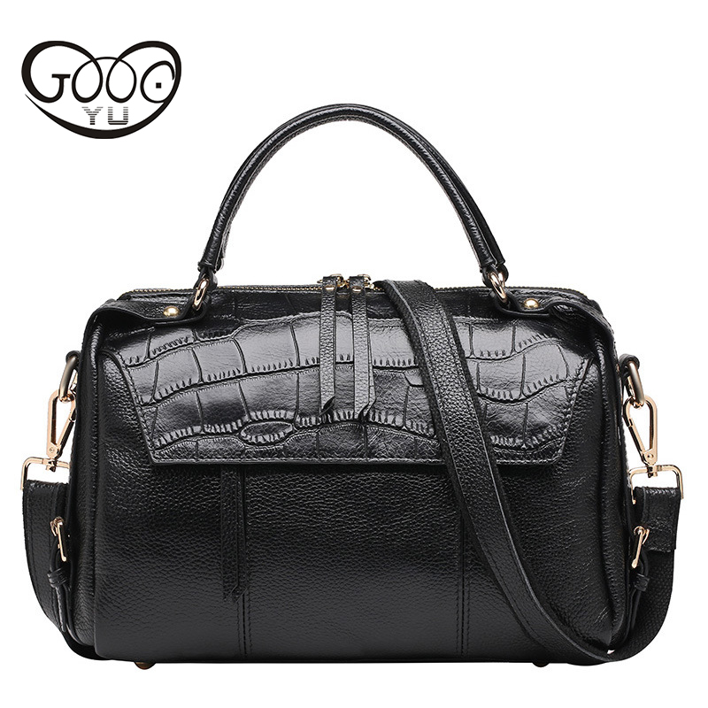 Genuine Leather Bag Casual Fashion Crocodile Female Bag Women Leather Handbags Crossbody Bags For Women Messenger Bags