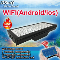 DSunY led aquarium lighting dimmable acuario marino controller akvaryum pesca fish tank aquarium coral chihiros aquario pecera