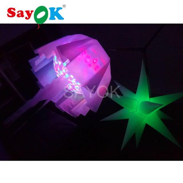Décoration led lampe de méduses pour Halloween gonflable méduses ...