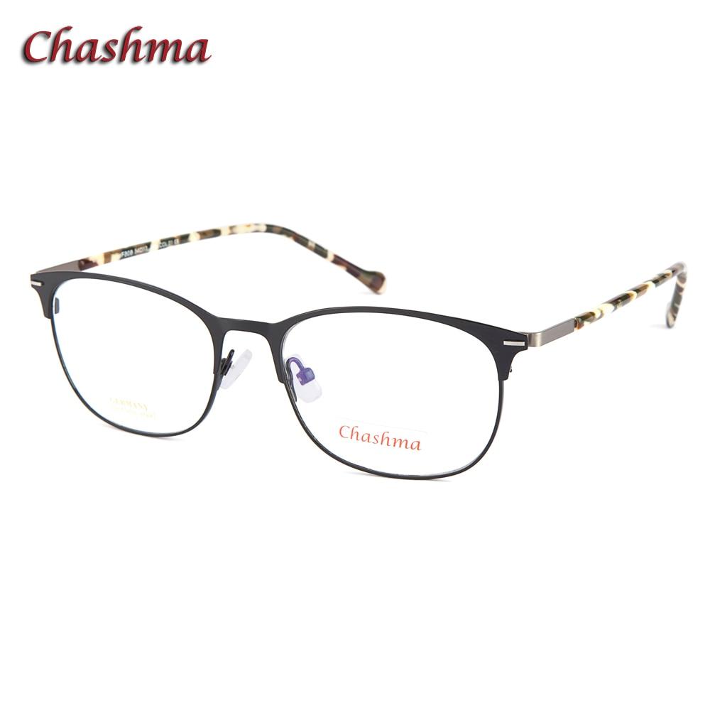 Rétro Designer qualité alliage Designer lunettes femmes montures de Prescription lunettes optiques printemps charnière ronde lunettes pour hommes