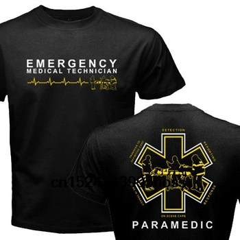 New Proud Paramedic EMT Emergency Medical Technician Medic Rescue Graphic T-Shirt