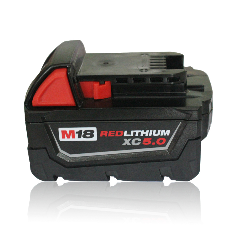 M18 Electric Drill Accessories lithium-ion Battery 18V 5000mAh For Milwaukee M18 48-11-1828 48-11-1840 18V 5.0Ah 90WH Battery power tool accessory lithium ion battery charger 14 4v 18v for milwaukee c18c c1418c 48 11 1815 1828 1840 m18 m14 serise parts