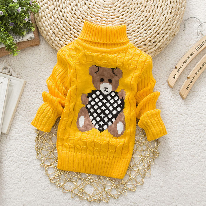 dba2eb50c Dropwow LCJMMO Boys Sweaters 2018 Cartoon Baby Girl Sweater jumper ...
