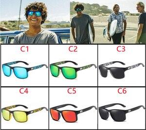 Image 2 - VIAHDA Gepolariseerde Zonnebril Voor Mannen Rijden Fashion Merk Desinger Zonnebril Voor Mannen Vrouwen Vierkante Spiegel