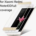 Xiaomi Redmi Phone Note4 Pro Full Cover Tempered Glass Movie Screen Protected Red Cell Phone Note 4 White Black Gold