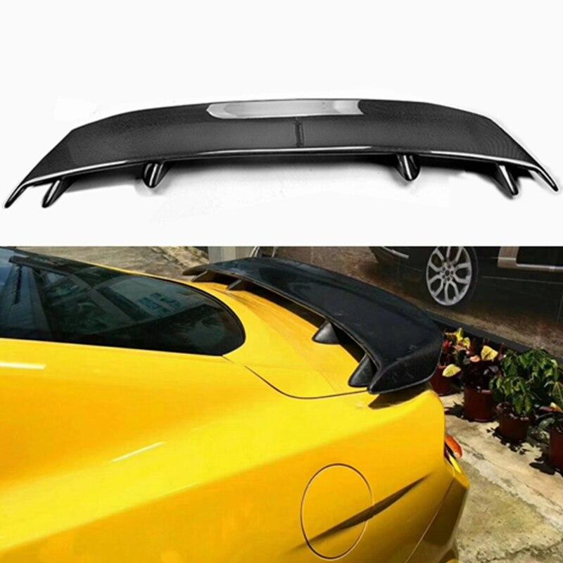 Haute qualité en fiber de carbone arrière aile torse lip spoiler pour Ford Mustang GT spoiler 2015 2016 2017 2018