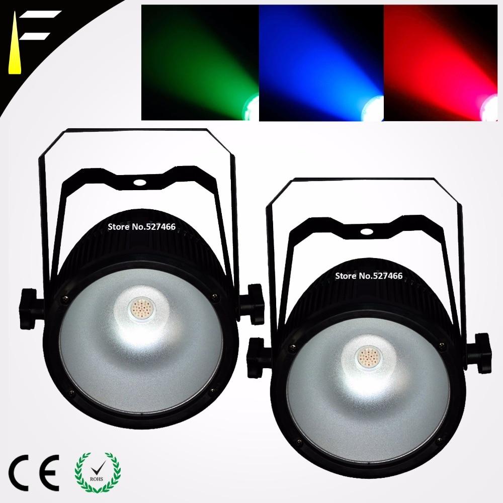 Disco LED Par Light COB LED 60w illuminates PAR can Offer Mixable RGB Colour LED Par Cans Suitable for StageClubsTrade Show