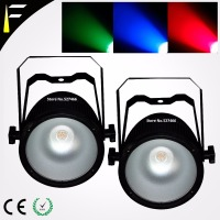 Disco LED Par Light COB LED 60w illuminates PAR can Offer Mixable RGB Colour LED Par Cans Suitable for Stage/Clubs/Trade Show