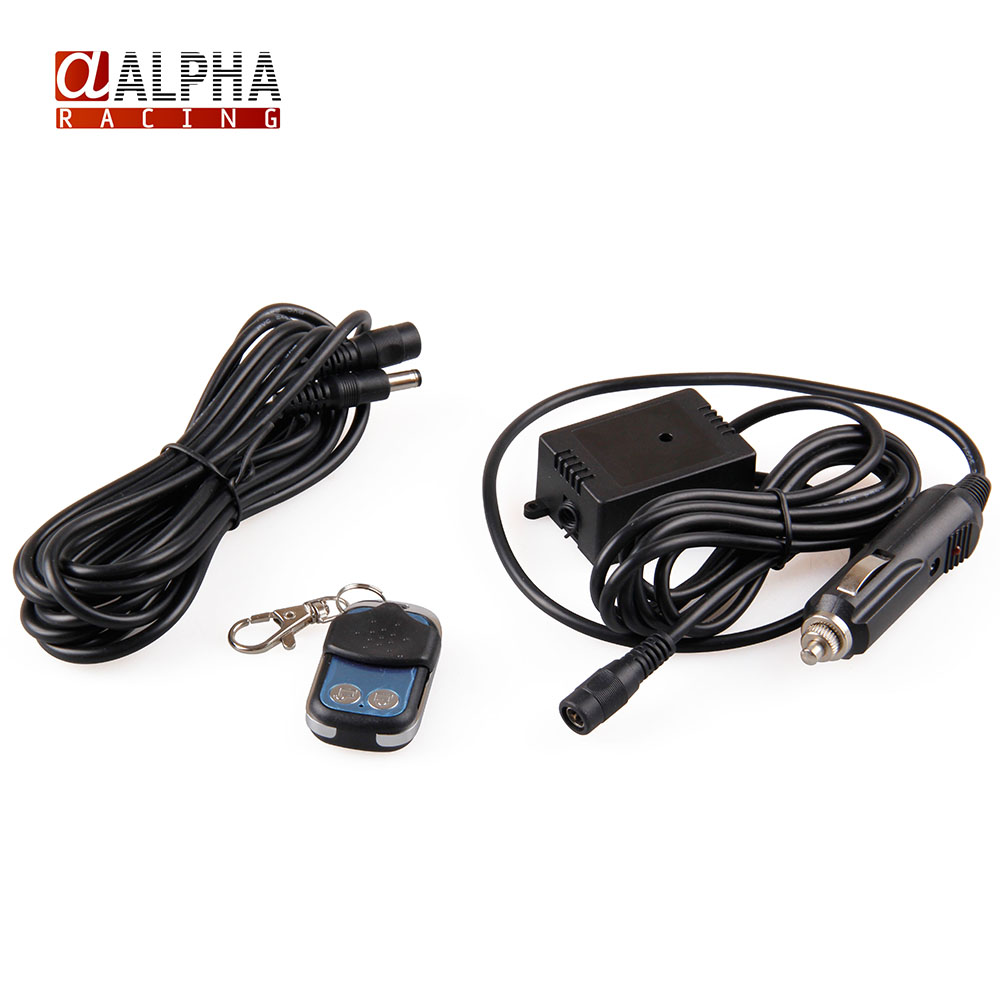 Alpha Racing High Quality car 12ft Wiring Harness Wireless Remote control  For Dump Valve Exhaust Cutout on Aliexpress.com | Alibaba Group