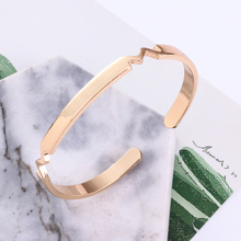 Huachu open Bracelet metal gold wholesale classic charming bracelet fashion new lightning woman