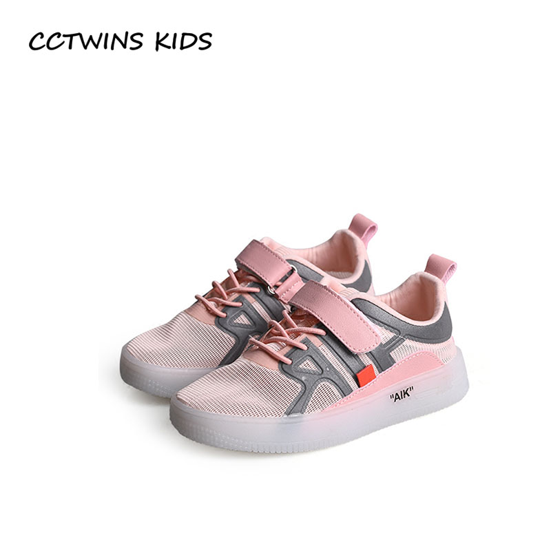 CCTWINS KIDS 2018 Summer Children Mesh Breathable Shoe Baby Girl Fashion Sport Sneaker Boy Brand Casual Trainer FC2278