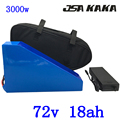 72В 3000 Вт литиевая батарея для электрического скутера 72В 18АЧ батарея для электрического велосипеда 72В 18АЧ батарея для электровелосипеда с 50A...
