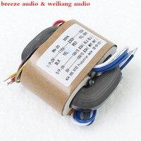 Weiliang Audio R Type Transformer 30W Input 115Vor230V Dual 9V 15V 18V 24V For Headphone