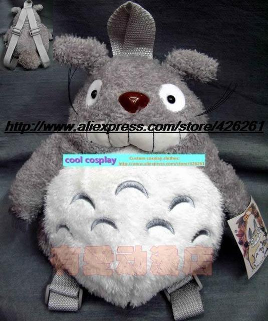 Мой Сосед Тоторо мультфильм моды утолщение версия плюшевые куклы рюкзак сумка маппет-шоу 30 см Симпатичные игрушка в подарок