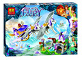 Nuevo 318 UNIDS BELA 10413 Elfos de Aira Pegasus Trineo Kit Set Compatible Bloques de Construccion Ladrillos  juguete