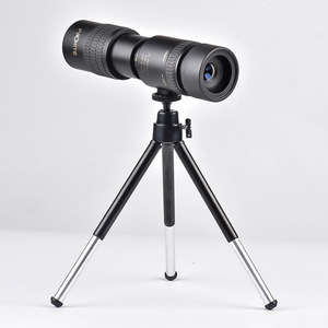Image 2 - Zoom Monocular 10 100x30 telescopio HD portátil teléfono móvil Cámara telescópica Spyglass Binocular caza tiro Golf turismo