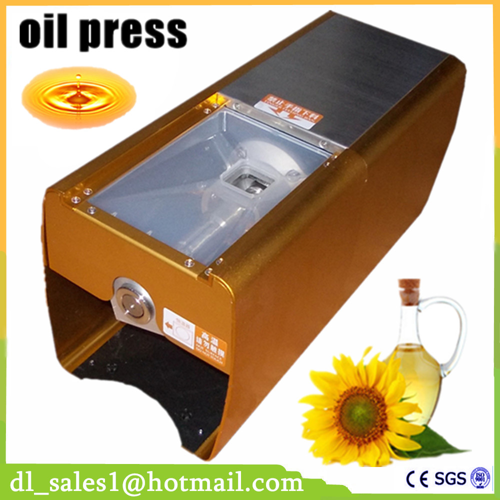 Hand mini oil press machine cold hot press Home commercial peanut coconut almond seed DL-ZYJ02
