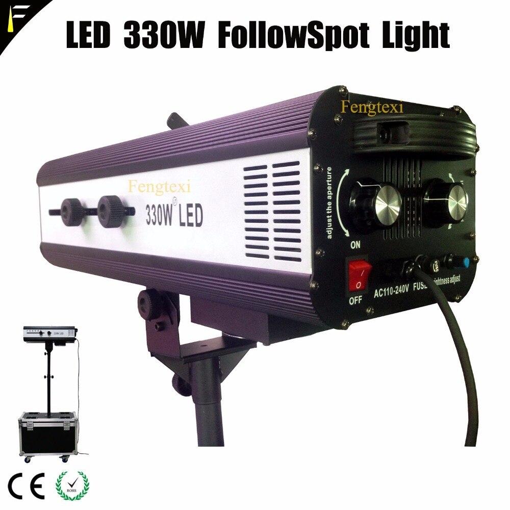 Muciscal Compact Follow Spot Light Beam LED 330 Watt With Flight Case Stand Wedding LED Followspot