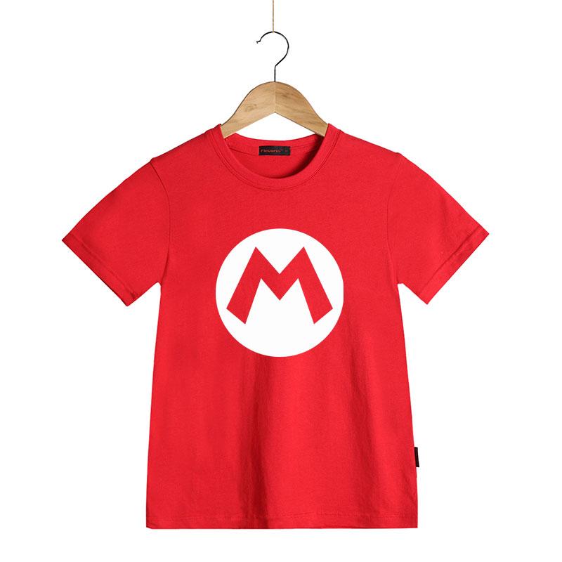 058244b60 Super Mario Bros. Kids Cosplay T Shirts Luigi/Wario/Princess Peach/Waluigi/Mario  Boys Girls Summer Clothes Summer T shirt Tops-in T-Shirts from Mother ...