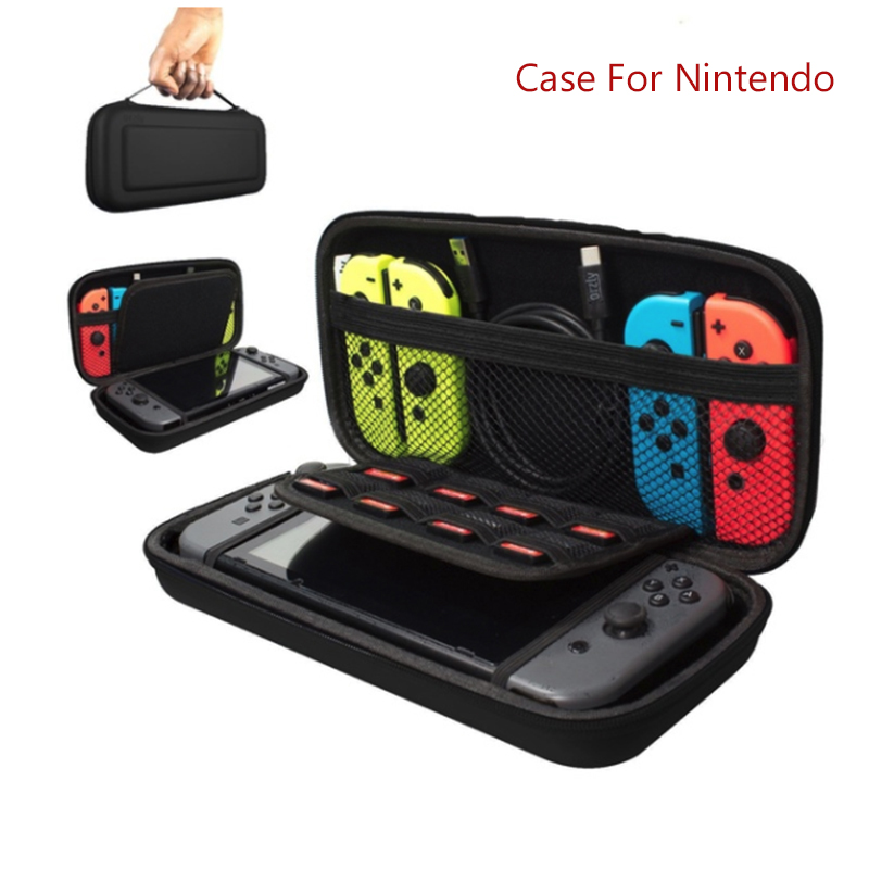 Image 2 - EVA Hard Bag Protection Bag Travel Carry Pouch Cover For Switch NS NX Hard Package Host Portable Game Package-in Bags from Consumer Electronics