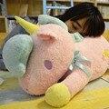 55 cm Nueva lindo suave Unicornio de juguete de felpa muñeca Géminis Dios bestia pony almohada cojín para niños juguetes para niños regalo