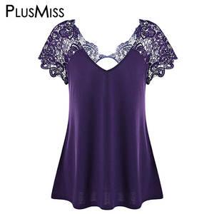 0fd9b434a4 PlusMiss Summer 2018 Top Women Blouse Ladies Black White