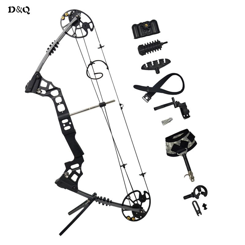 купить Hunting Archery Compound Bow Set Comb Left Right Hand 20-70 lbs for Outdoor Shooting Competition Practice Games Sling Shot Bow по цене 24206.43 рублей