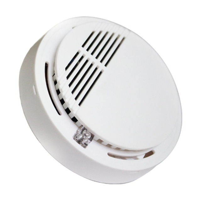 LESHP Photoelectric Wired Fire Detector High Sensitivity
