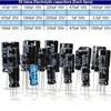 Hot New Arrival Wholesale 1uF 2200uF 25V 50V 25Valuesx5Pcs Total 125 Pcs Electrolytic Capacitors Assortment Kit